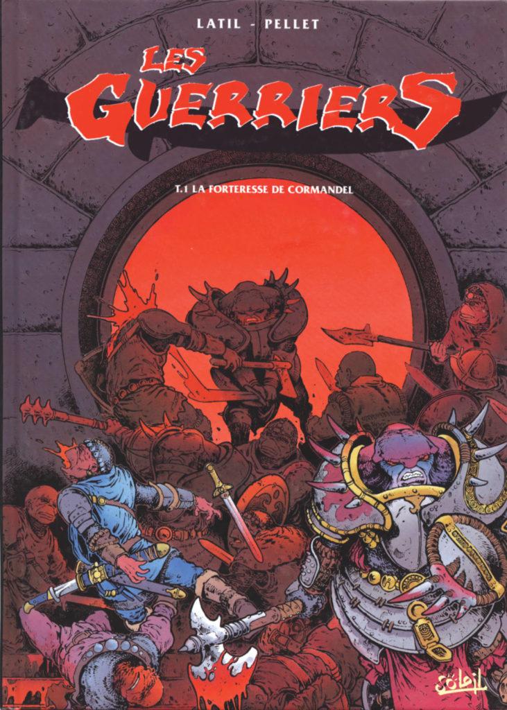 """Couverture de l'album """"La Forteresse de Cormandel"""", tome 1 de la série Les Guerriers"""