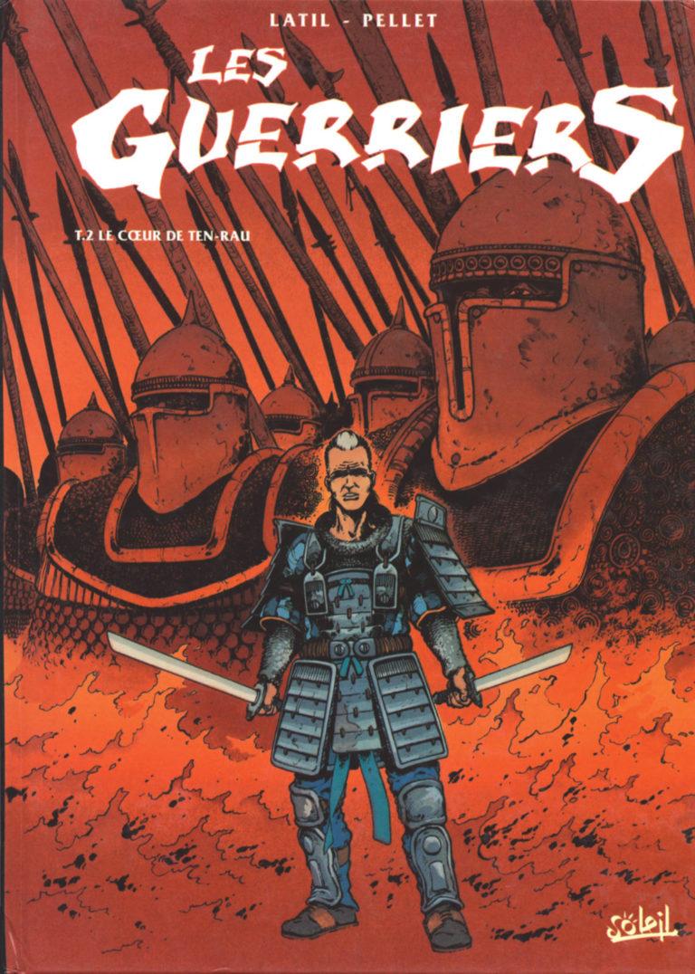 Couverture de l'album Le cœur de Ten-Rau, tome 2 de la série Les Guerriers