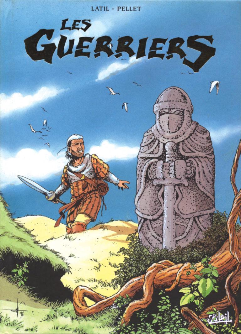 Couverture du coffret des tomes 1 à 3 de la série Les Guerriers