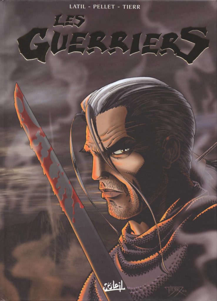 Couverture du coffret des tomes 4 à 6 de la série Les Guerriers