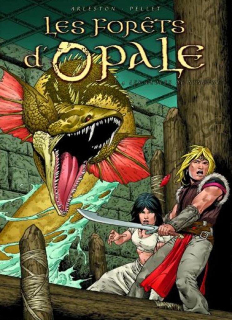 Couverture de l'album Les geôles de Nénuphe, tome 4 de la série Les Forêts d'Opale