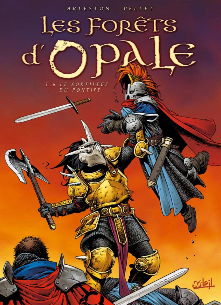 Couverture de l'album Le sortilège du Pontife, tome 6 de la série Les Forêts d'Opale