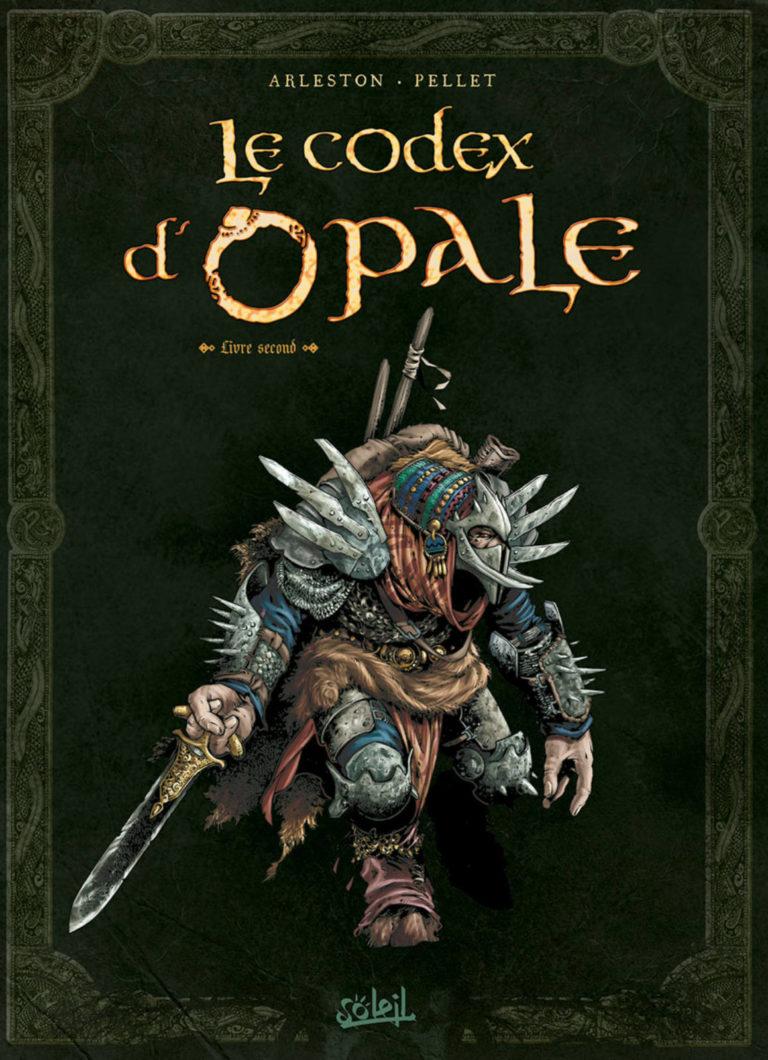 Couverture du Codex d'Opale, livre second, artbook dérivé de la série Les Forêts d'Opale