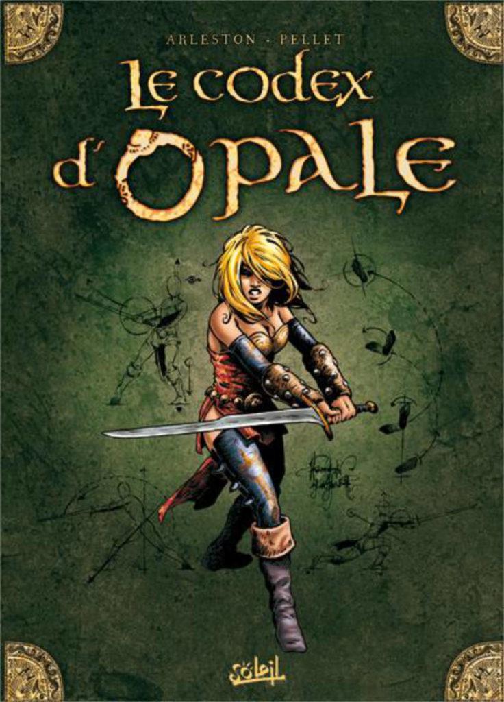 Couverture du Codex d'Opale, artbook dérivé de la série Les Forêts d'Opale