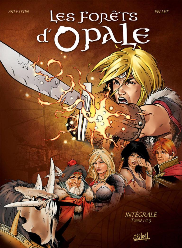 Couverture de l'intégrale des tomes 1 à 3 de la série Les Forêts d'Opale