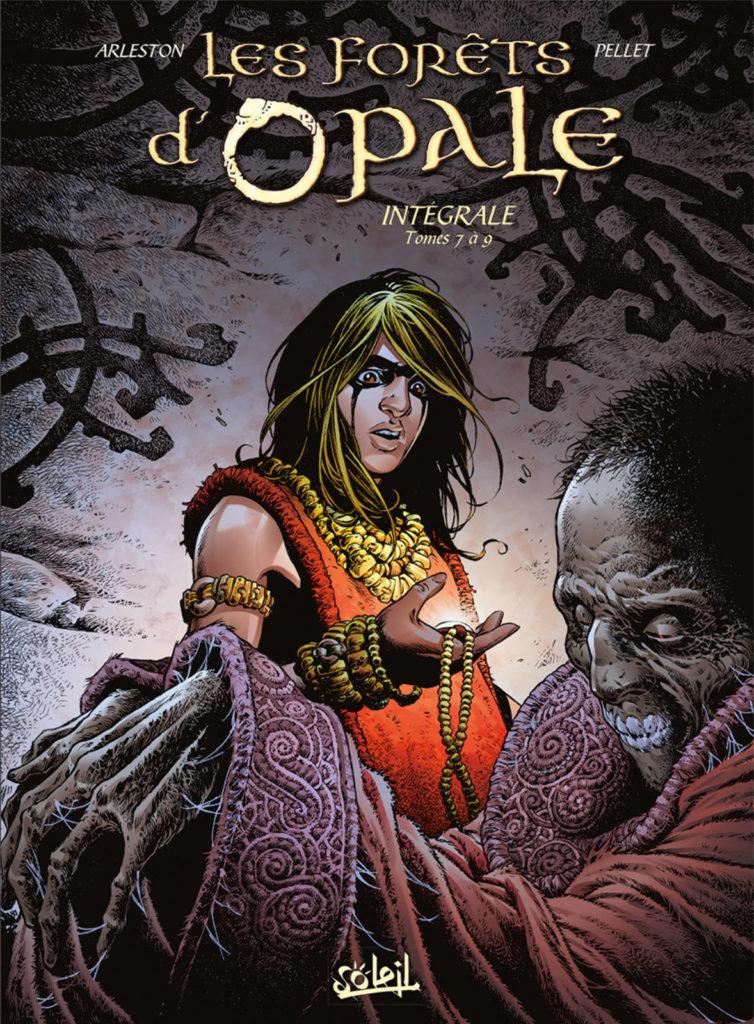 Couverture de l'intégrale des tomes 7 à 9 de la série Les Forêts d'Opale